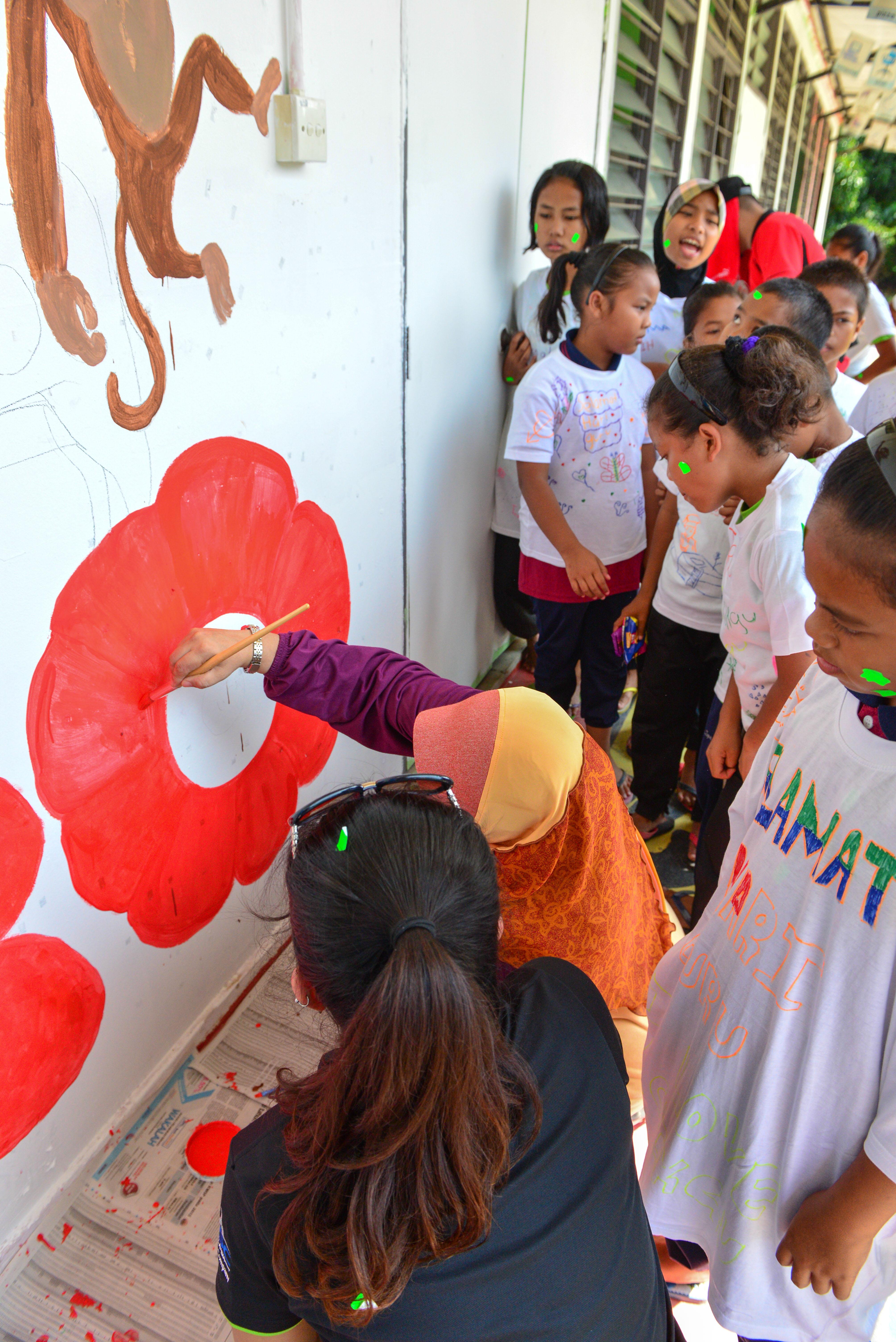 v.mural painting