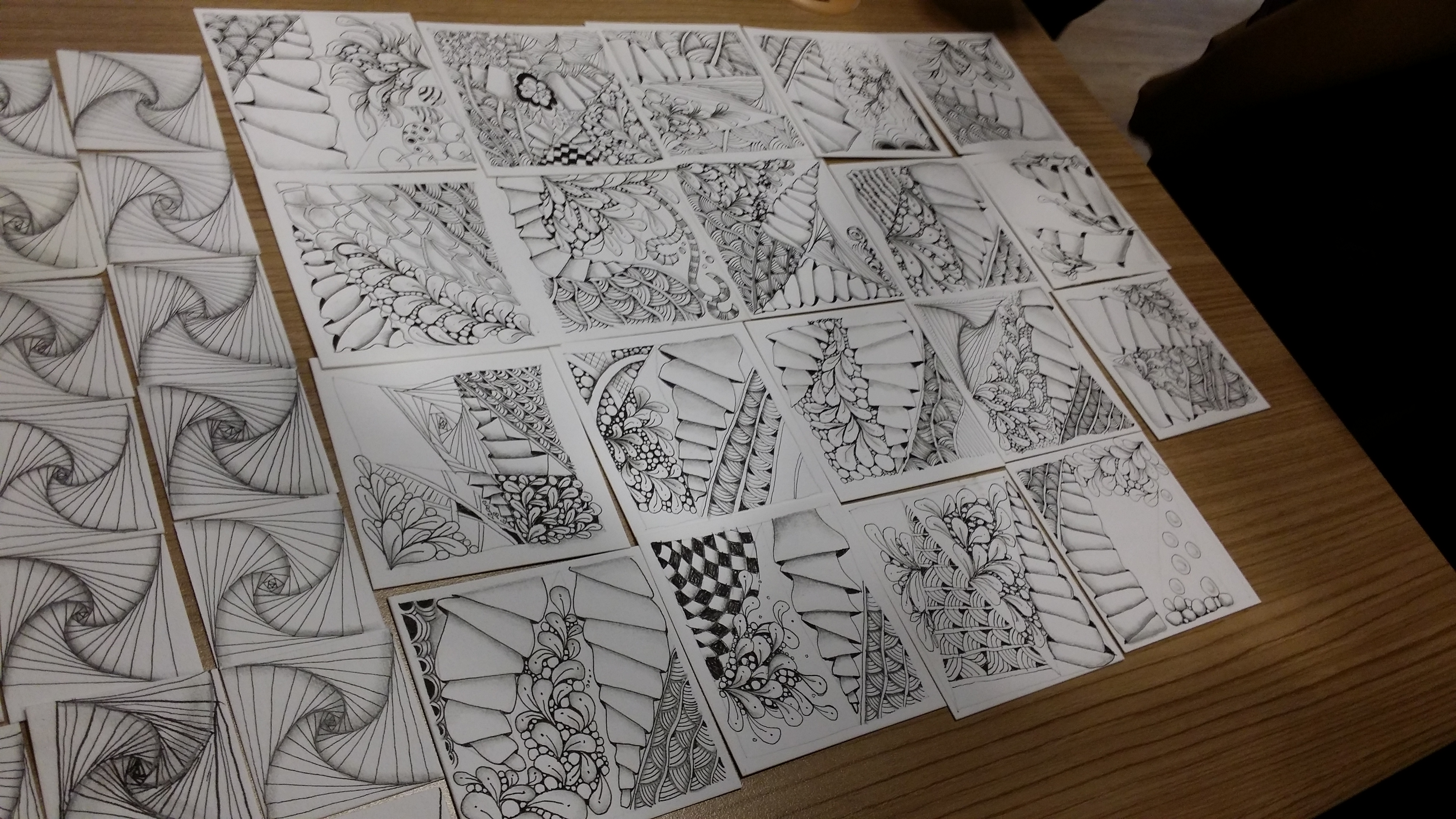 o.compile of student works
