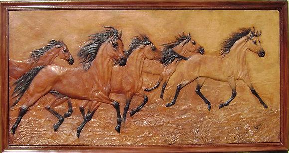 Arabians Wall Relief