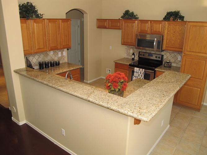 beige fix and flip kitchen
