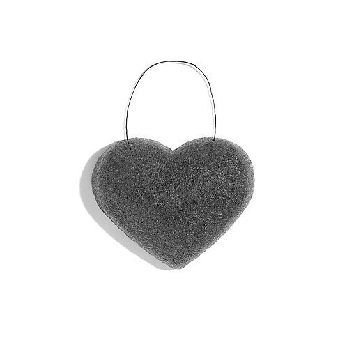 One Love Organics Bamboo Charcoal Heart