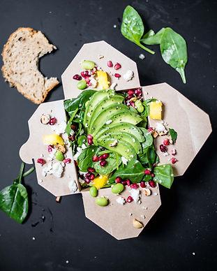 Take Away Salat nach Hause bestellen