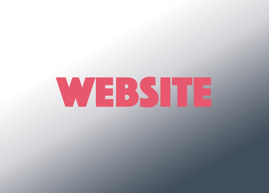 Website gradient new font phosphate