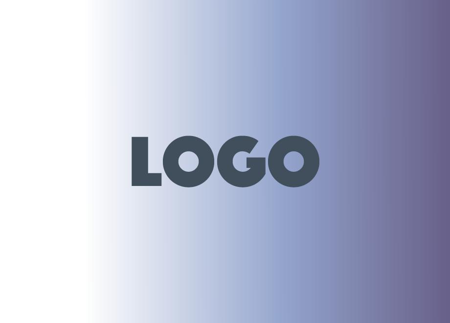 Logo gradient new font phosphate