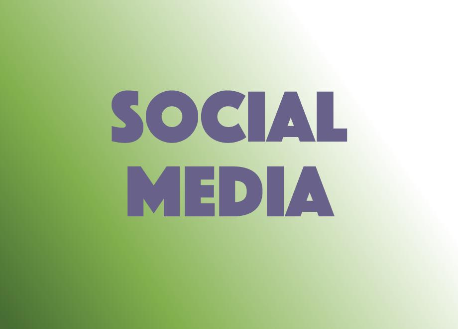 social media gradient new font phosphate