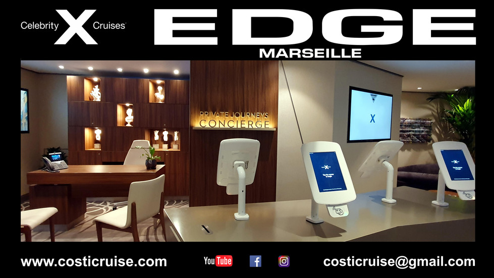 CELEBRITY EDGE  INSIDE  Diaporama Click Lire la suite ..