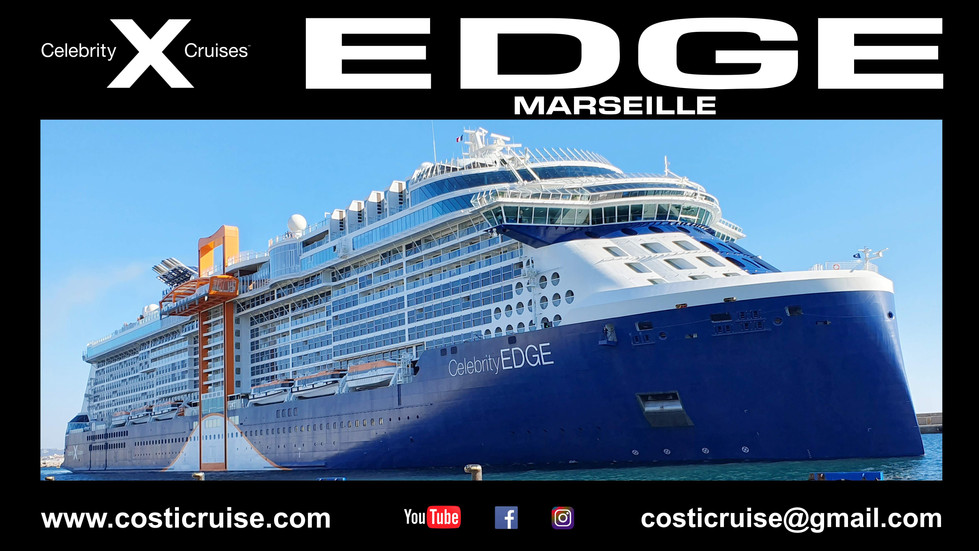 CELEBRITY EDGE  BY ME ..