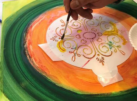 ¡Es impactante cómo pintar un mandala puede ayudarte en la vida!