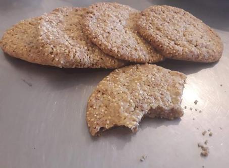 ¡Prepara estas deliciosas galletas de amaranto con esta sencilla receta!