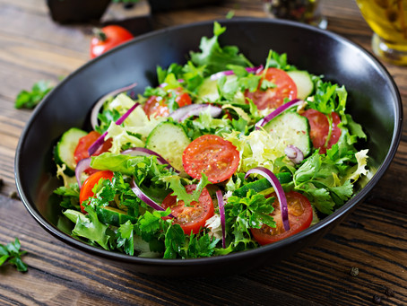Ensalada verde, receta super fresca para los días de calor.