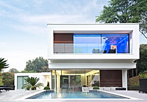 Modern House with a Pool