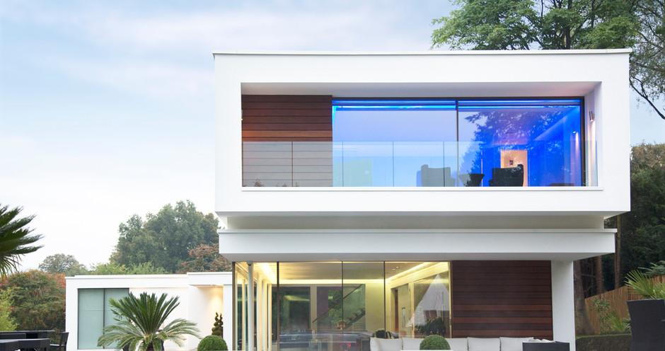 Moderní dům s bazénem