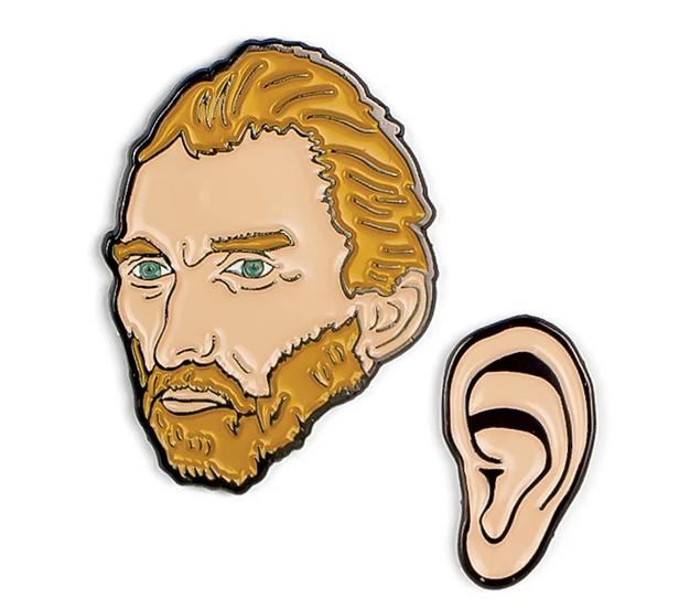Pin - Vincent Van Gogh & His Ear