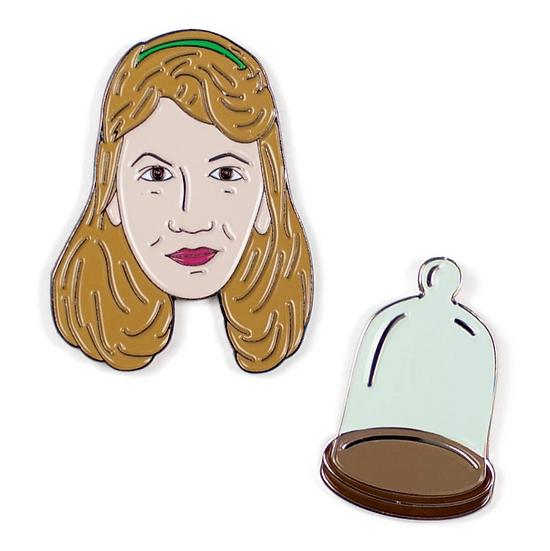 Pin - Sylvia Plath & Bell Jar
