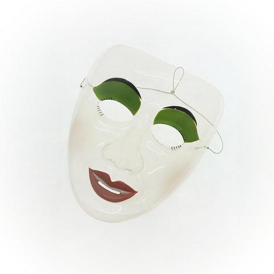 RARE - Vintage Transparent Party Mask