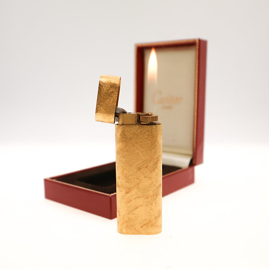 Vintage Lighter 18k Gold Cartier 1950s