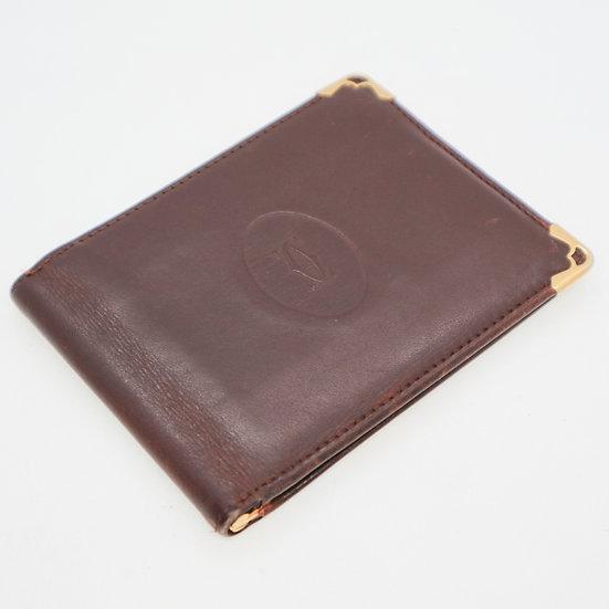 Vintage Cartier Leather Wallet