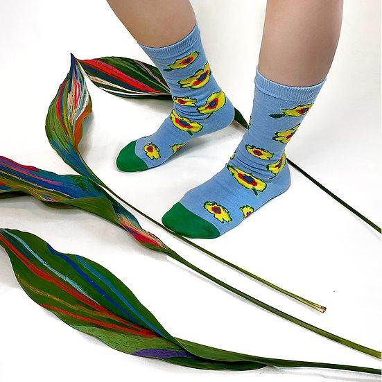bikutamalamia -  Oh my little yellow! ankle socks