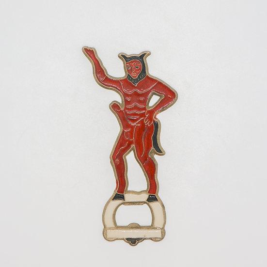 copy of Vintage Greek Brass Opener - Devil