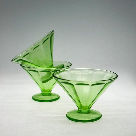 Federal Madrid Drpression Glass - Sherbit Glass