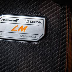 McLaren Senna Badge