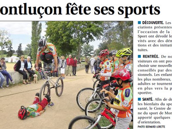 Montluçon fête le sport