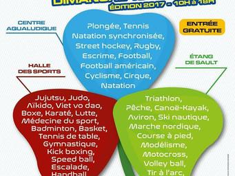 La 7ème édition de la Fête du Sport : dimanche 10 septembre