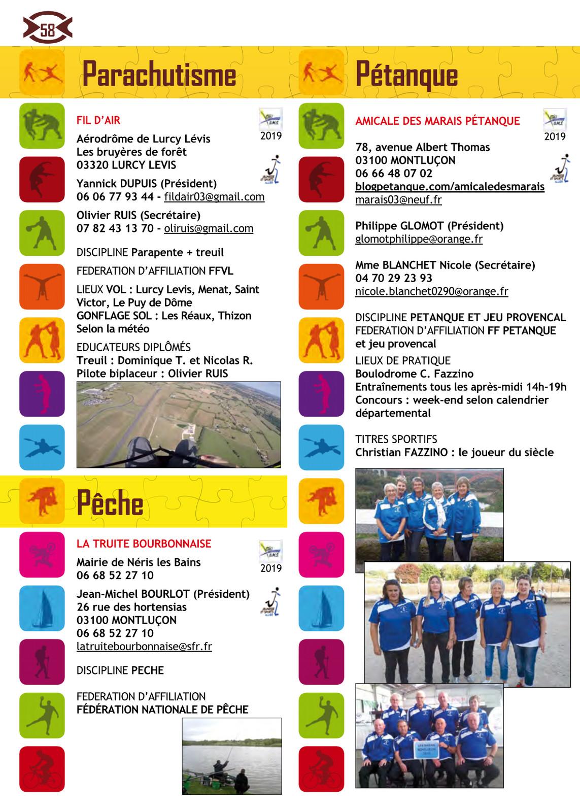 Calendrier De Peche 2020.Brochure 2019 2020 Page 58 Png