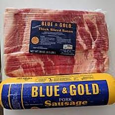 Blue & Gold Bacon