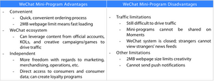 The Advantages of Selling Through WeChat Mini-Programs