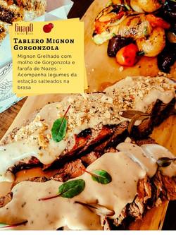 Tablero mignon gorgonzola