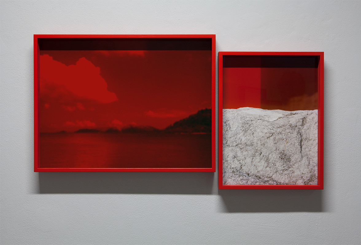 Untitled (Red Diptych)