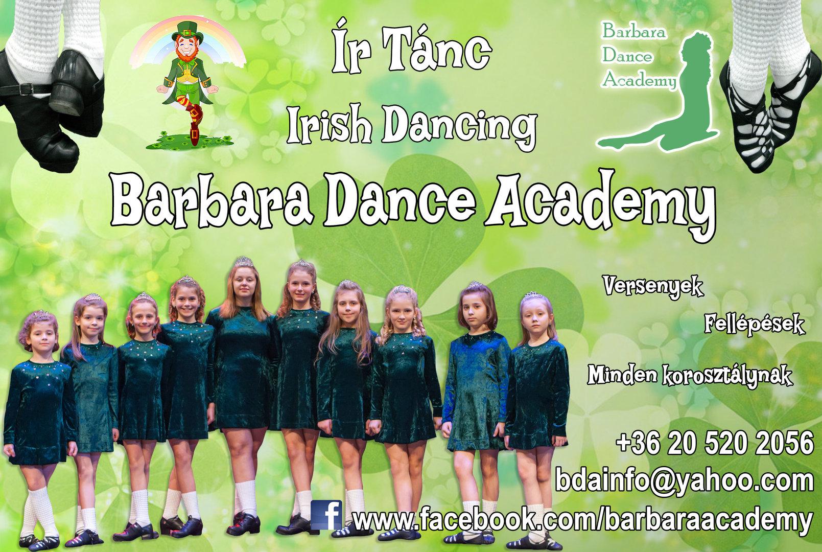 Ír tánc gyerekeknek