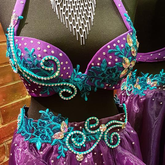 belly dance dress