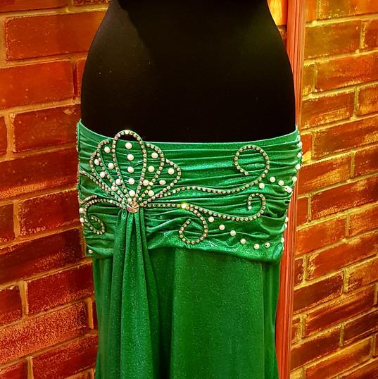 mermaid bellydance dress