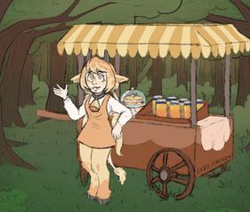 The Honey Seller
