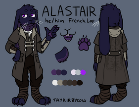 Alastair Reference Sheet