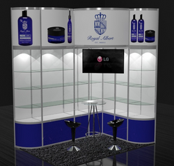 Stand 3x2 octanorm
