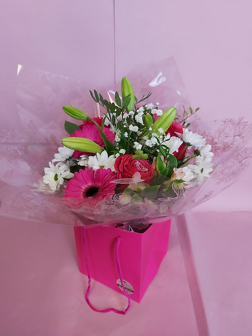 Hand tied bunch