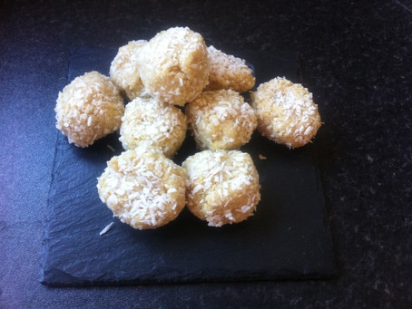 Lemon and Coconut Bliss Balls