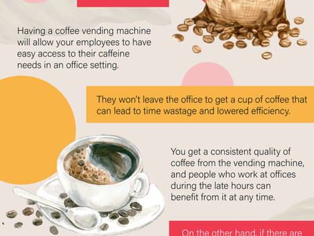 Why do you need a coffee vending machine?