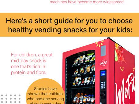 Choosing Healthy Vending Snacks for your kids