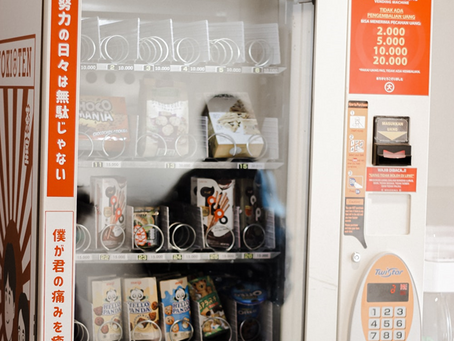 The Shift from Traditional to Healthy Vending Machines