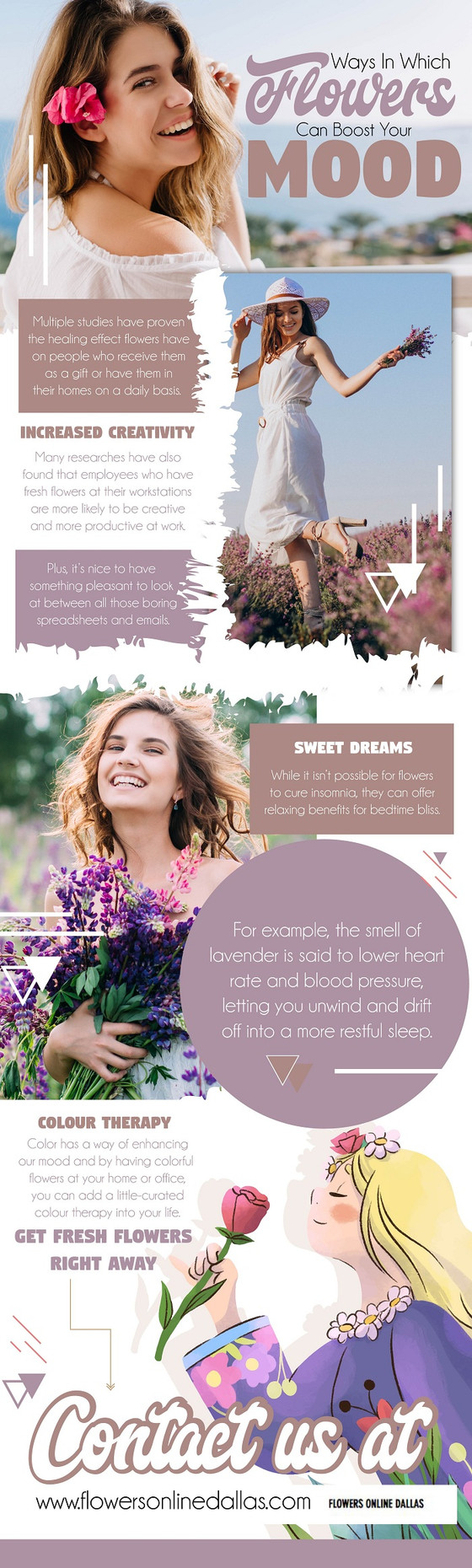 Ways in Which Flowers Can Boost Your Mood