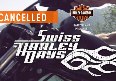 Annullati gli Swiss Harley Days 2020