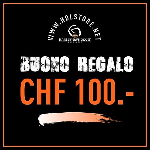 BUONO REGALO CHF 100.-