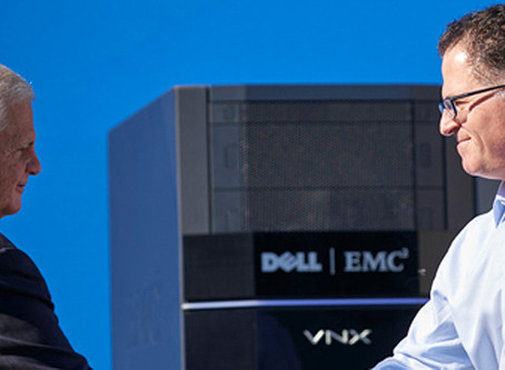 Fusão Dell e EMC no dia 7 de setembro