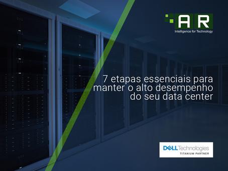 7 passos fundamentais para manter o alto desempenho dos servidores em um data center