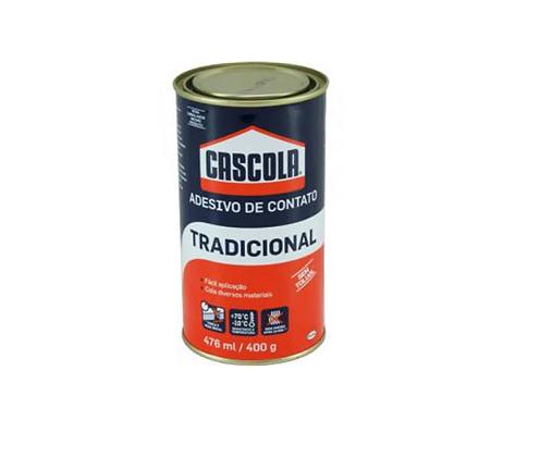Cascola Tradicional 400g (Cola de contato) sem Toluol