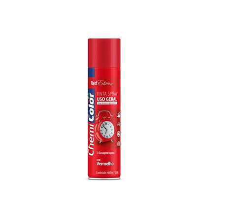 Tinta Spray Vermelho 400ml/250g